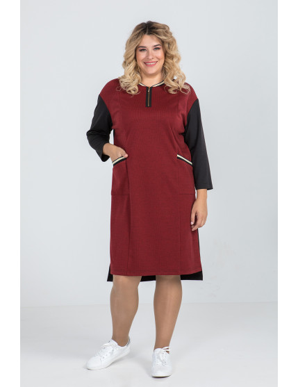Платье 933 (красный)