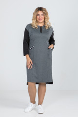 Платье 933 (серый)