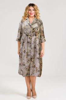 Платье 947 бежевый
