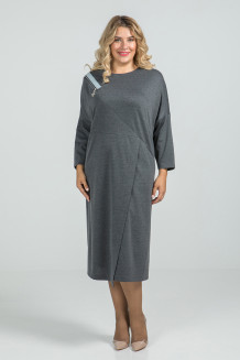 Платье 963 (серый)