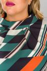 Блузка 1518603 мультиколор