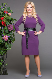 Платье Париж (фиолет)
