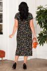Платье Афелия (черный/узоры)