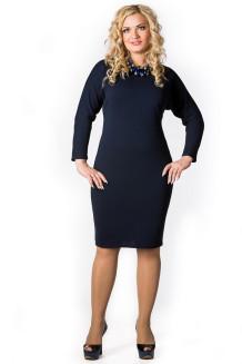 Платье Лиза (темно-синий)