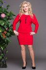 Платье Мадонна (красный)