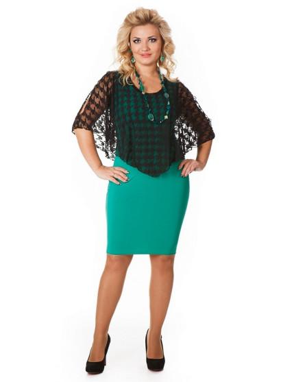 Платье Марго (зеленый)