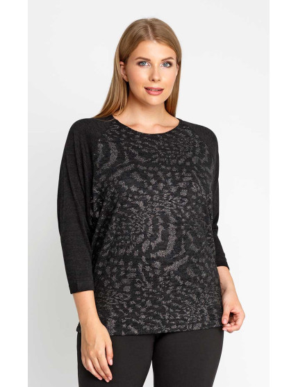 Блузка 2734156 (черный)