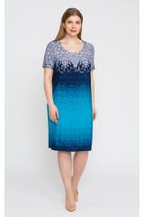 Платье 5295 (бирюза)