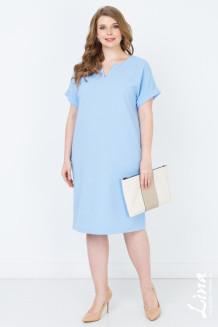 Платье Глэдис (голубой)