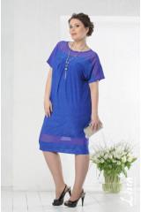 Платье Монреаль (василек)