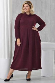 Платье Ангорка-2 (бордо)