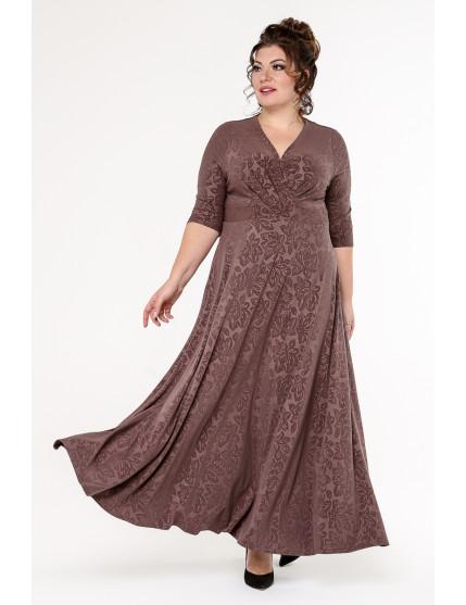 Платье Флорида ( коричневый)