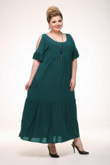 Платье Лилия (зеленый)