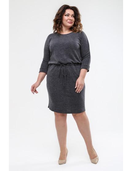 Платье Надин (серый)