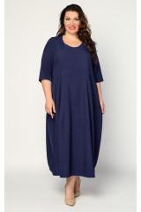 Платье Неаполь (синий темный)