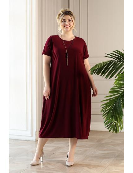 Платье Париж (бордо)