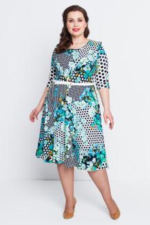 Платье Патрисия (бирюза)