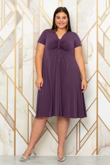 Платье Саманта (серо-сиреневый)