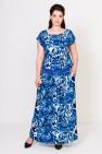 Платье Тиффани (леопард василек)