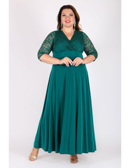 Платье Вернисаж (зеленый)