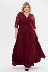 Платье Вернисаж (вишня)
