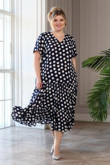 Платье Виктория (горох крупный)