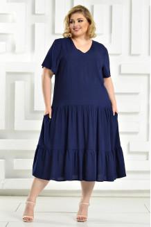 Платье Виктория (синий)