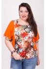 Блузка Бренда (оранжевый)