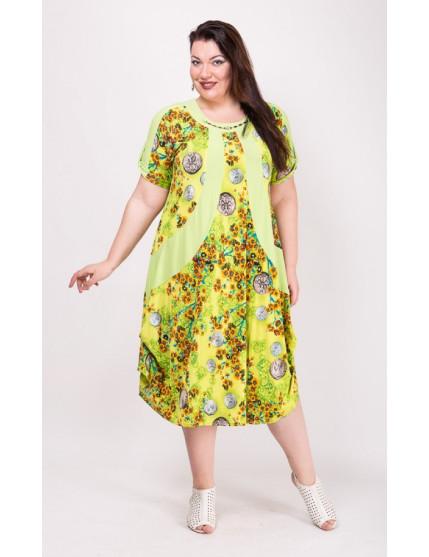 Платье Алевтина (желтый)