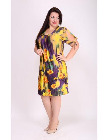 Платье Анфиса (желтый)