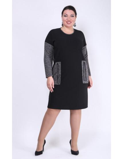 Платье Авангард (черный)