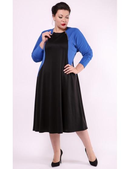 Платье Эльба (синий)