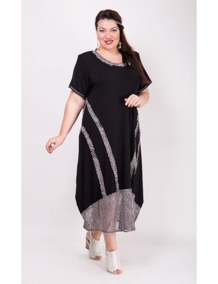 Платье Евдокия (черный)