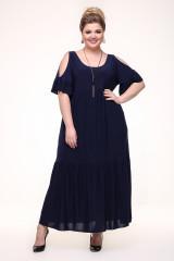 Платье Лилия (синий)