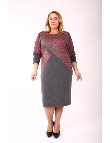 Платье Скандинавия (красный)