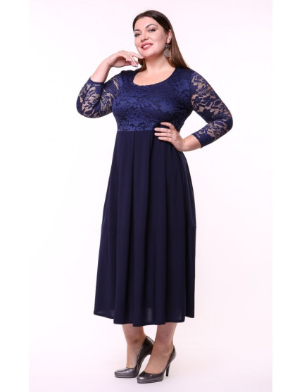 Платье Триумф (синий)