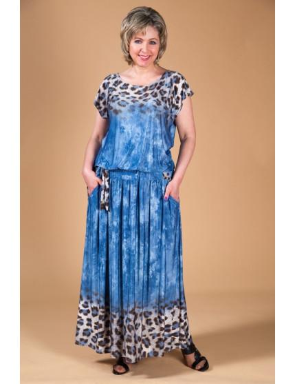 Платье Дженни (джинса)