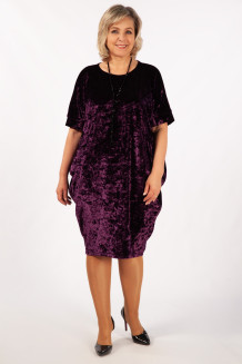 Платье Барбара (баклажановый)