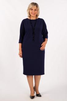 Платье Беретта (синий)
