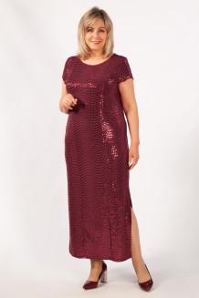 Платье Диор (бордовый)