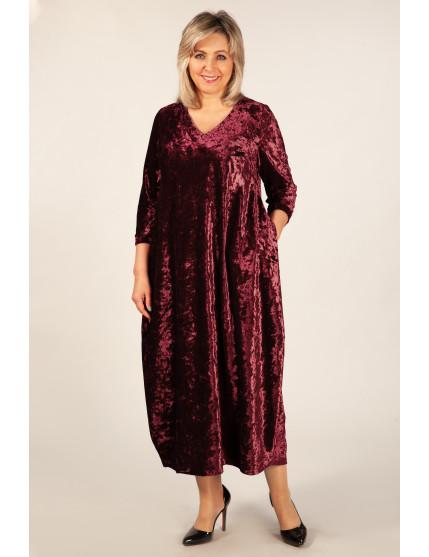 Платье Дорети (бордо)