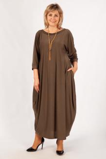 Платье Эвита (коричневый)