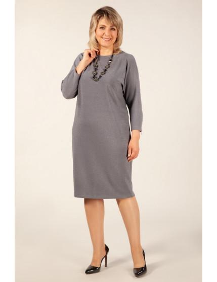 Платье Глория (светло серый)