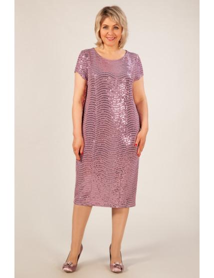 Платье Канны (брусника)