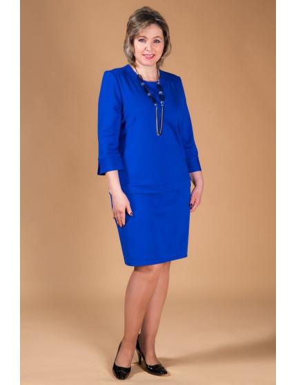 Платье Леди (синий)