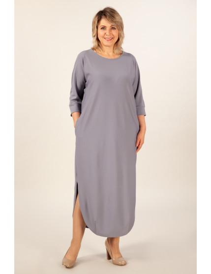 Платье Мона (светло серый)