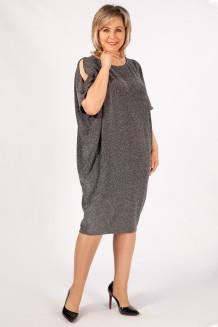 Платье Тиффани (черный/серебро)