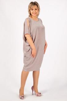 Платье Тиффани (серо-розовый)