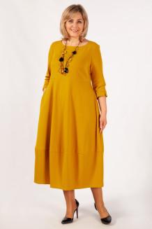 Платье Трейси (горчица)