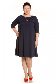Платье 4284 синий